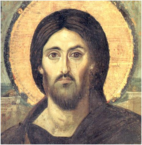 Image of the Eyes of Christ