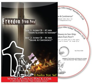 image of freedom from porn addiction cd set