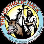 The Catholic Hack logo, To be the Donkey Jesus rides today!