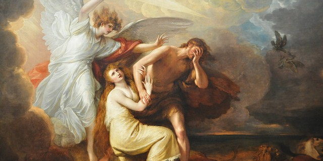 Benjamin West - The Explusion of Adam and Eve from Paradise, 1791